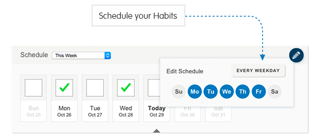 forums news habits update alarms and non daily schedules